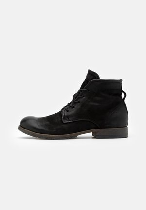 CLASH - Lace-up ankle boots - nero