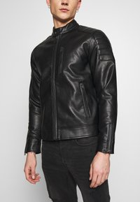 Redefined Rebel - RIVER JACKET - Veste en similicuir - black - 7