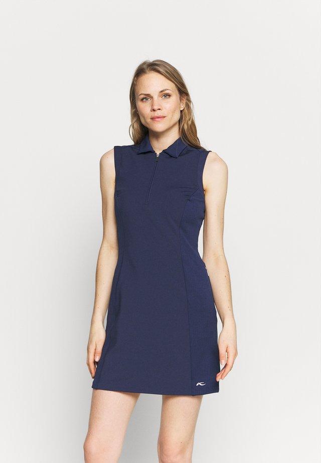 WOMEN SUSI DRESS - Robe de sport - atlanta blue