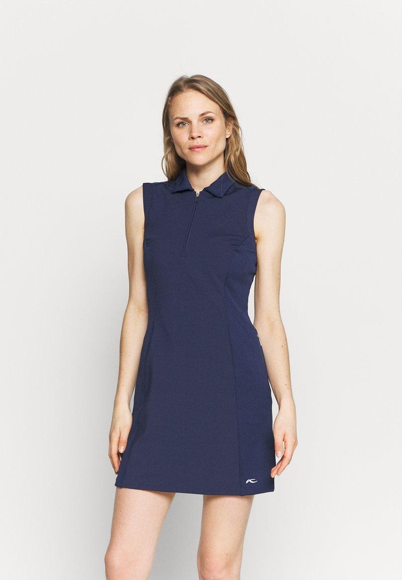 Kjus - WOMEN SUSI DRESS - Sports dress - atlanta blue
