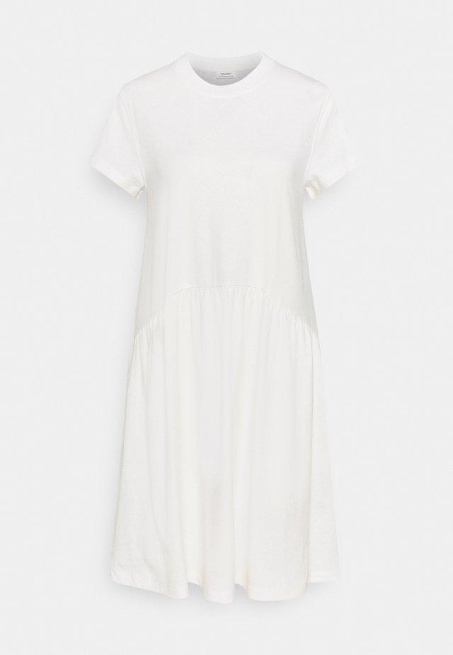 Sukienka z dżerseju - scandinavian white