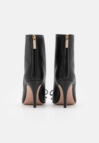 Red V - BOOTIE  - High heeled ankle boots - nero - 3