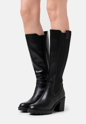 Platåstøvler - black