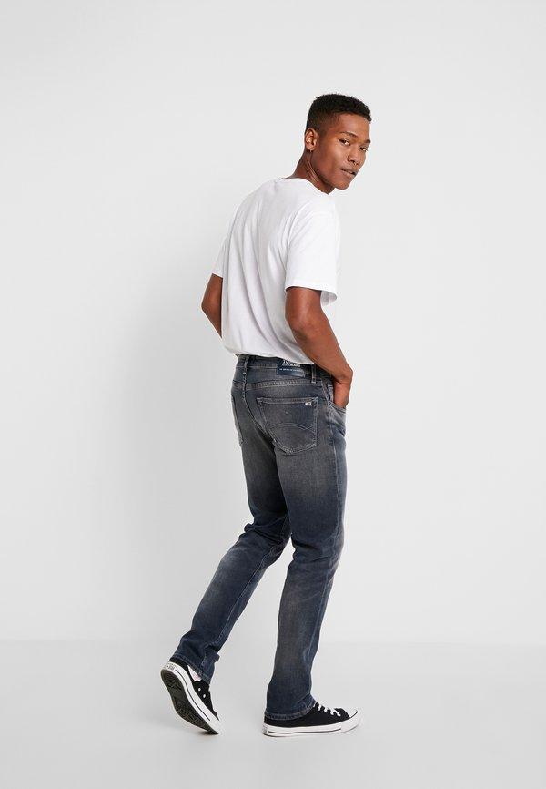 Tommy Jeans RYAN - Jeansy Straight Leg - dark-blue denim/ciemnoniebieski Odzież Męska XWMW