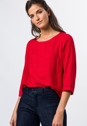Blouse - red flame