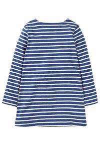Boden - MIT APPLIZIERTER TASCHE - Long sleeved top - segelblau/naturweiß, zebra - 1