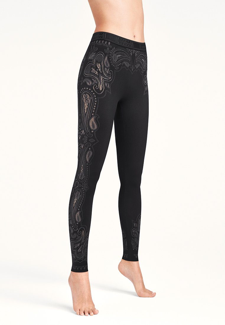 Wolford - OM - Leggings - Trousers - black/ash