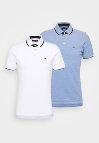 Jack & Jones - JJEPAULOS 2 PACK - Koszulka polo - bright cobalt/white - 4