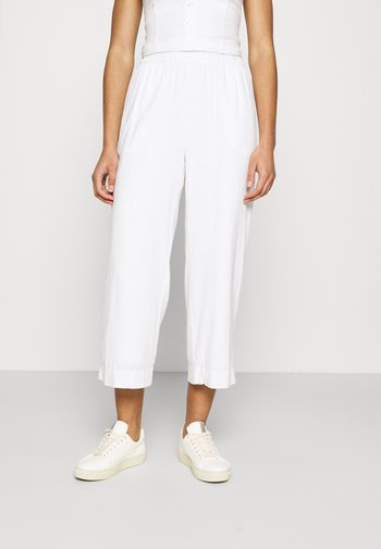 EVERYDAY PULL ON - Trousers - white