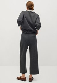 Mango - MIA - Trousers - dunkelgrau meliert - 2