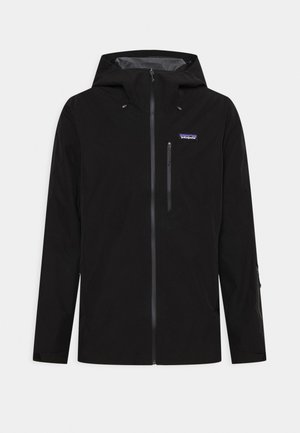 POWDER BOWL - Hardshell jacket - black