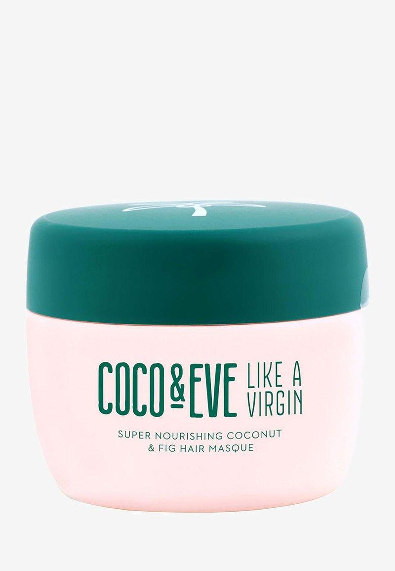 Coco & Eve - LIKE A VIRGIN SUPER NOURISHING COCONUT & FIG HAIR MASQUE - Hair mask - -