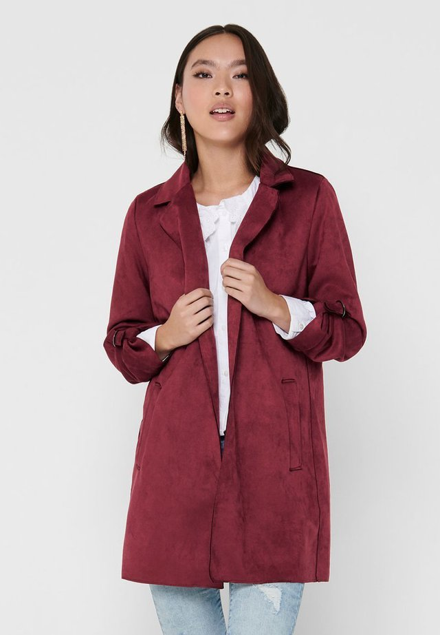 Manteau court - pomegranate