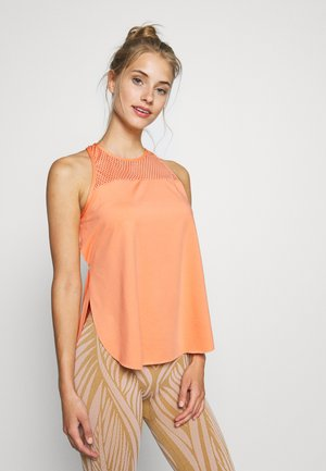 TANK LOOSE FIT - Topper - coral