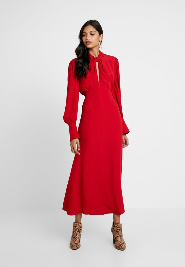 JULIA DRESS - Maxikjole - red