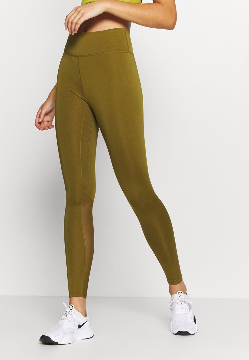 Nike Performance - ONE 7/8  - Leggings - olive flak/black
