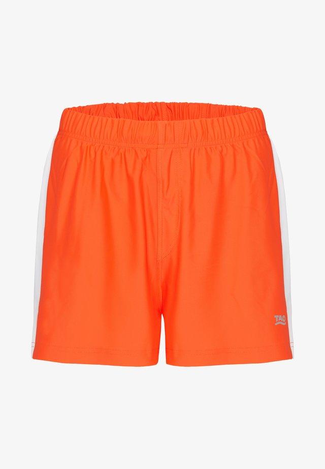 FABIUS - Sports shorts - orange/white