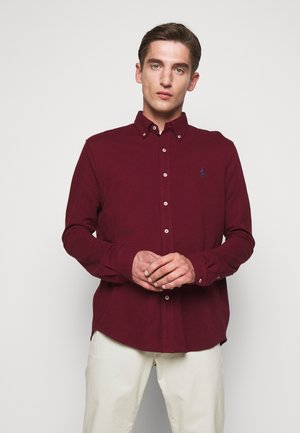 LONG SLEEVE - Camicia - classic wine