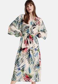 Taifun - Jersey dress - offwhite gemustert - 0