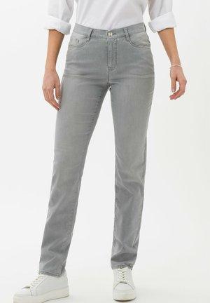 STYLE CAROLA - Jean slim - used summer grey