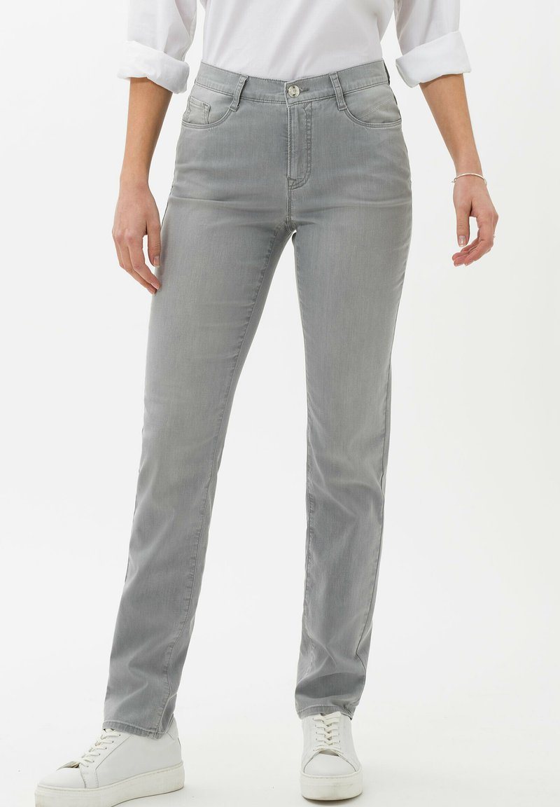 BRAX - STYLE CAROLA - Jean slim - used summer grey