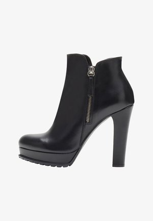 ZOE - High heeled ankle boots - black