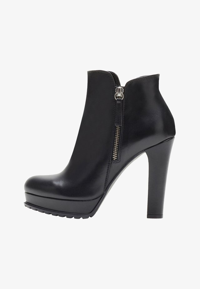 ZOE - High Heel Stiefelette - black