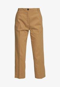 Sisley - TROUSERS - Trousers - brown - 5