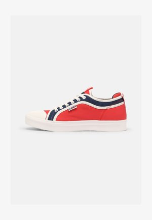 DEN - Sneaker low - red/white/navy