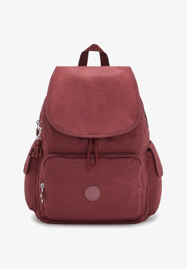 CITY PACK - Zaino - intense maroon