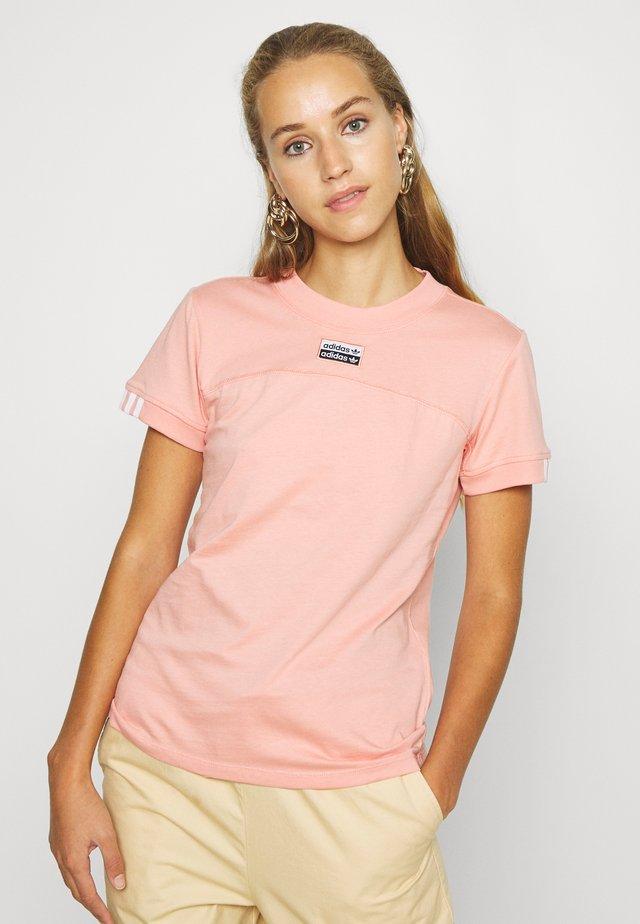 TEE - T-shirt imprimé - trace pink