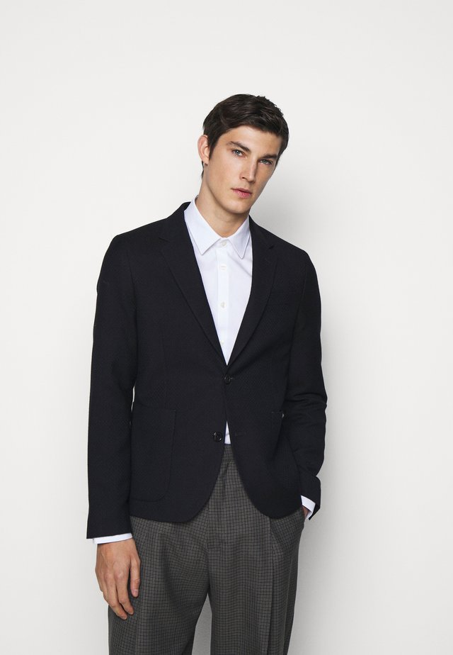 MENS JACKET UNLINED - Blazer - dark blue