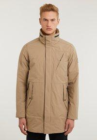CHASIN' - SATURN LIGHT - Short coat - beige - 5