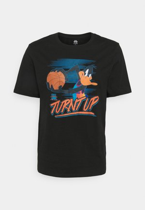 SPACE JAM 2 TURNT UP TRIBLEND TEE - T-shirt imprimé - black
