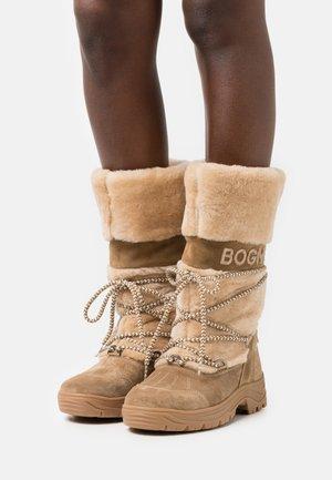 ALTA BADIA - Zimní obuv - cognac