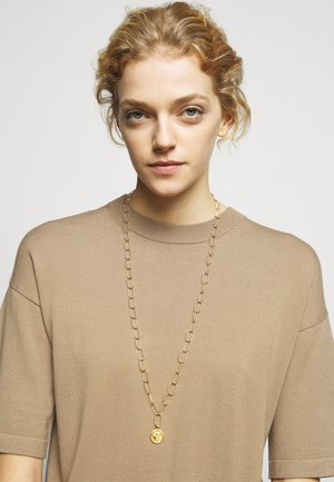 HERCULES STATEMENT NECKLACE - Necklace - gold-coloured