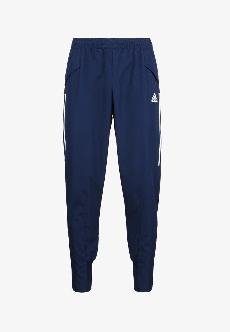 adidas Performance - CONDIVO 20 PRE-MATCH PANTS - Träningsbyxor - navy blue / white