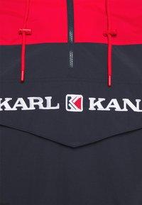 Karl Kani - RETRO BLOCK - Windbreaker - red - 2