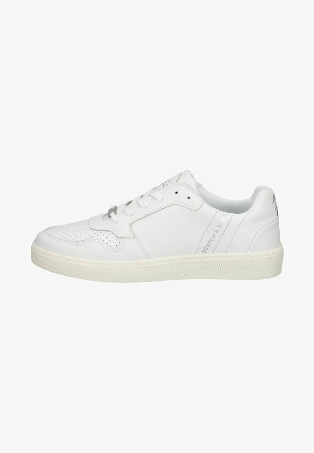 Sneakers laag - white s