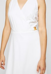 Lauren Ralph Lauren - LUXE TECH DRESS WITH TRIM - Day dress - cream - 5