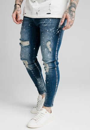 DISTRESSED RIOT - Jeans Skinny Fit - raw blue