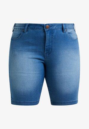 EMILY SLIM LEG - Shorts - light blue denim