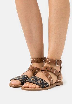CEVIE - Sandals - cognac