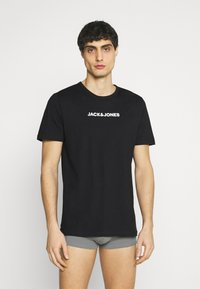 Jack & Jones - JACRAIN TEE 3 PACK - Pyjama top - black - 0