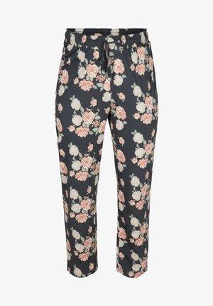Pyjama bottoms - blue flower