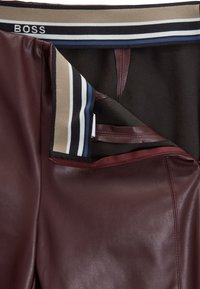 BOSS - Leggings - Trousers - dark red - 4
