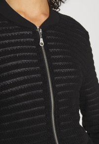 ONLY - ONLASTER BOMBER JACKET - Cardigan - black - 4