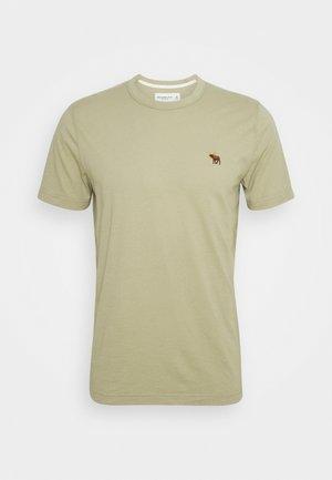 ICON BLOCKING TEE - T-shirt - bas - light green