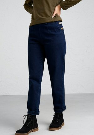 WATERDANCE - Straight leg jeans - blue