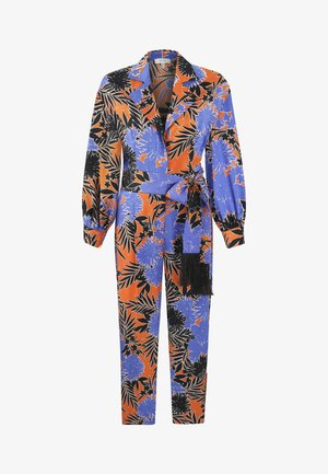 OVERALL PATTERNED - Mono - orange
